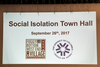 Social Isolation Town Hall 9/26/17